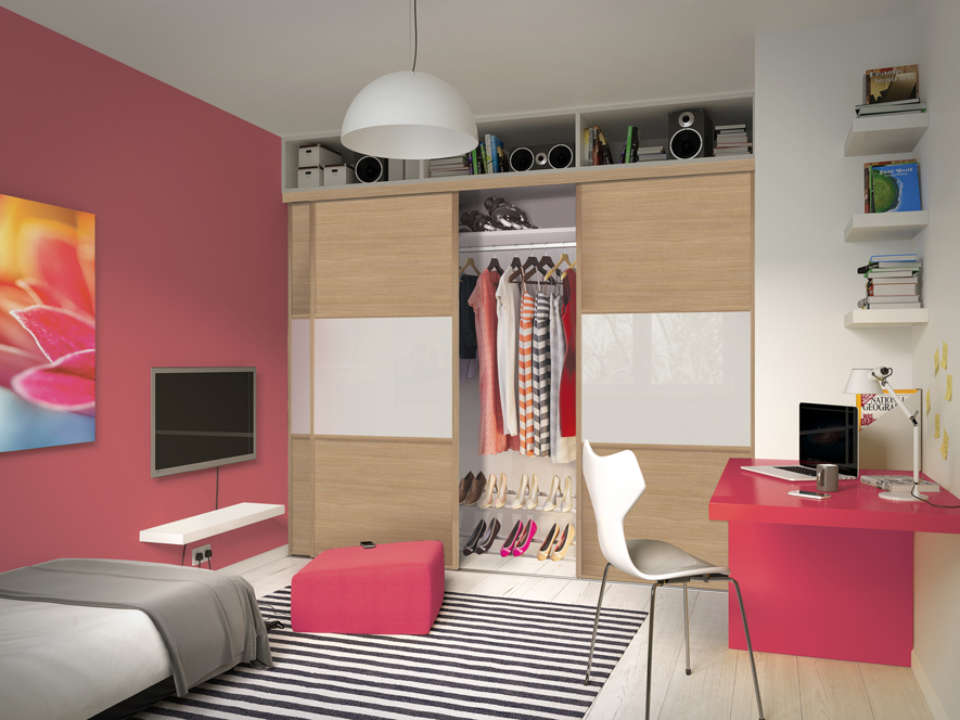 the perfect bedroom for a teenage girl spaceslide