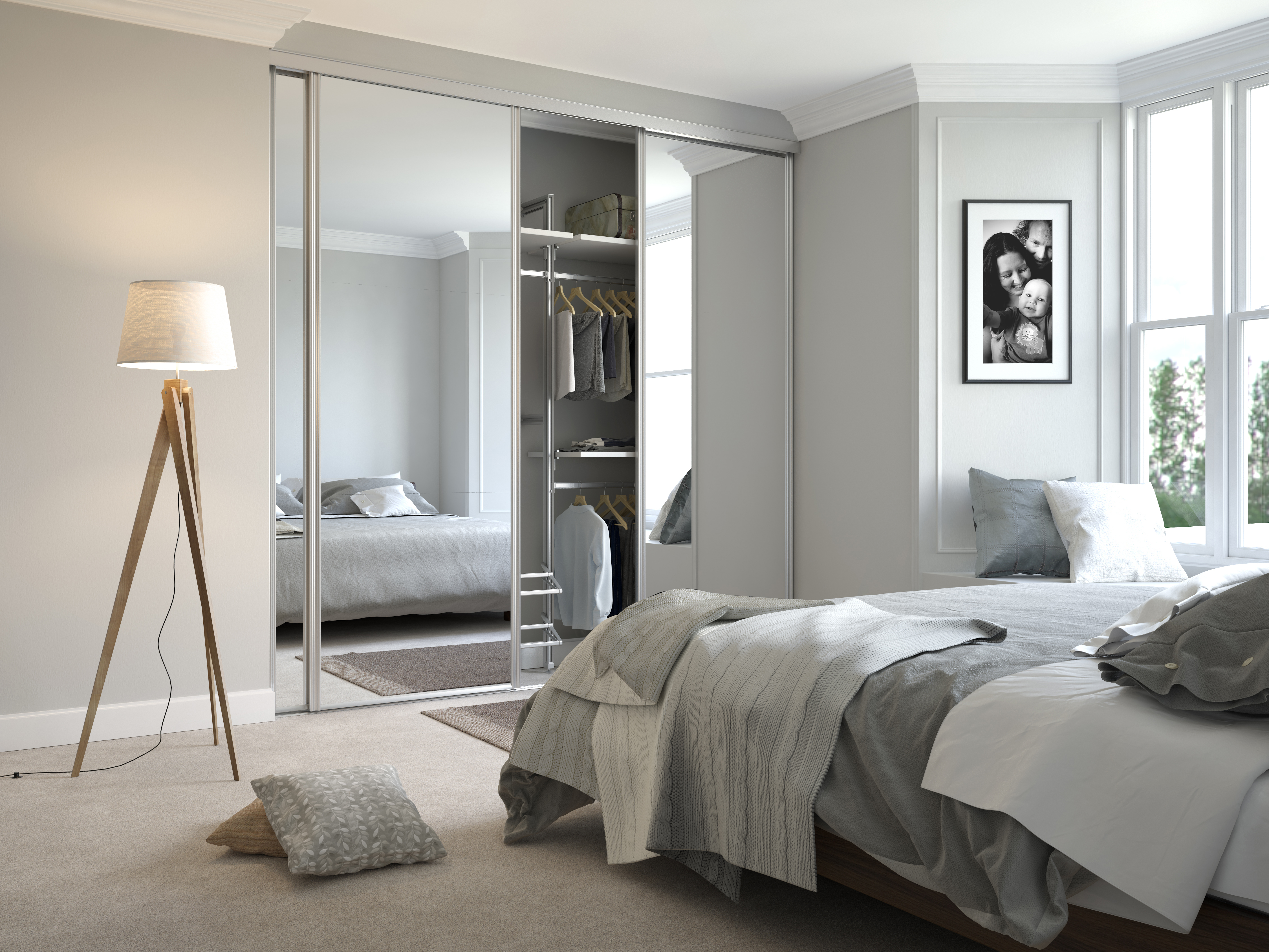 ... Your Décor Whilst Maximising The Roomu0027s Living Space And, When Paired  With Sliding Doors, Make It Feel More Spacious, As They Wonu0027t Extend When  Opened.
