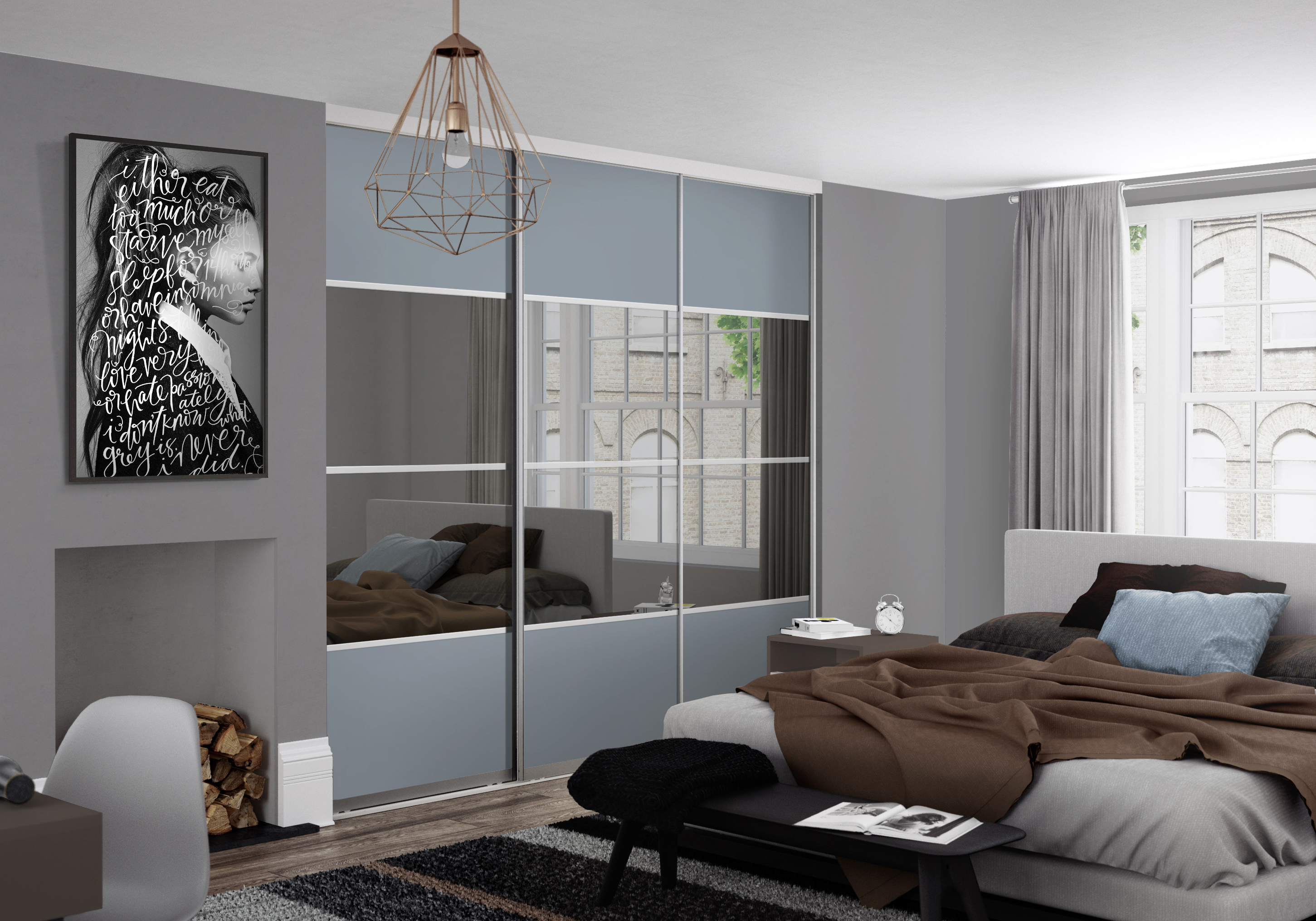 Interior design trends 2017 2018 wardrobe trends spaceslide for Bedroom designs latest 2018