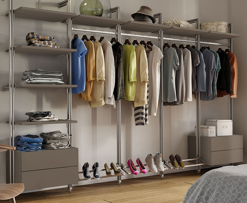 Wardrobe Storage Solutions Spaceslide