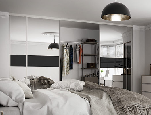 Wardrobes for small rooms