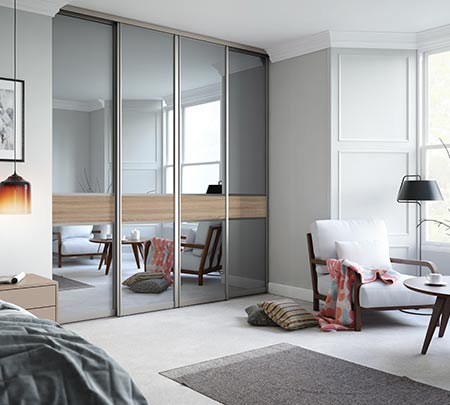 Calculation of the doors of the wardrobe. Sliding systems