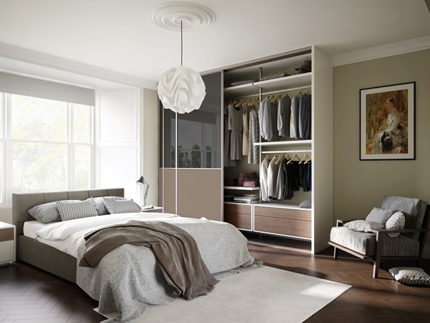 internal wardrobe storage