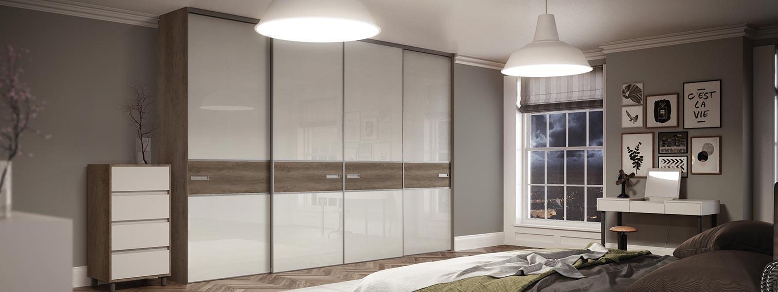 bespoke built in wardrobes, custom sliding wardrobes | spaceslide