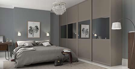 Bedroom Furniture Fitted fitted wardrobes uk & fitted wardrobe doors | spaceslide