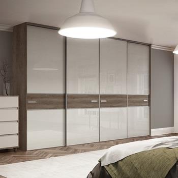 Sliding wardrobe doors sliding mirror wardrobe doors for Bedroom dressing ideas