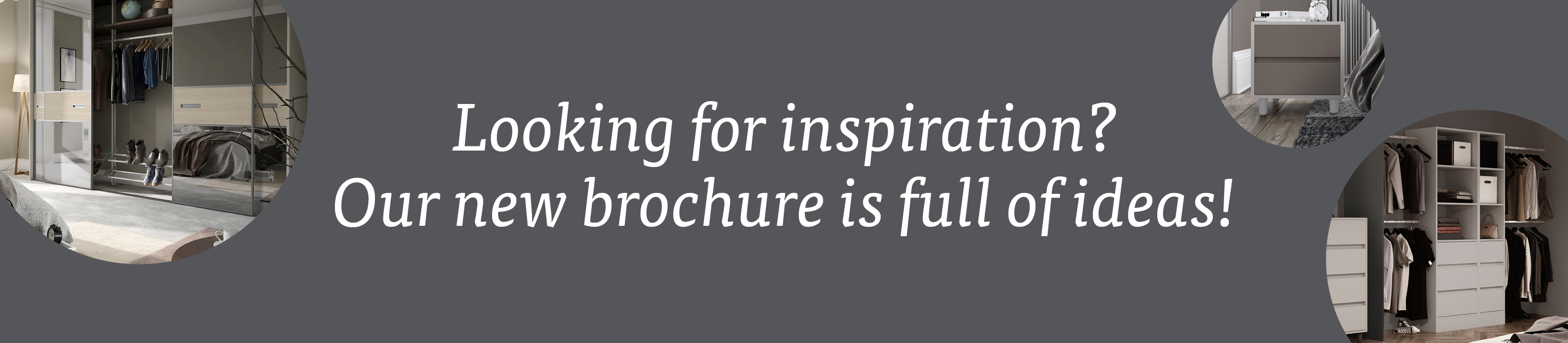 Looking for inspiration? Our new brochure is full of ideas