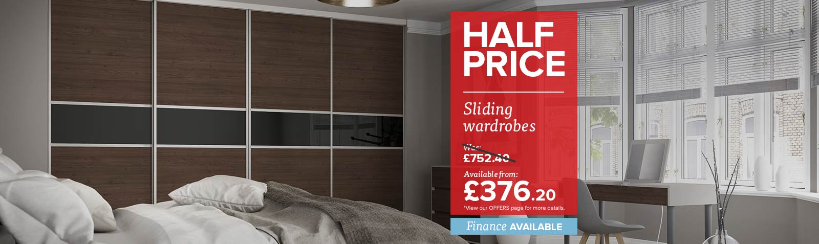 Half price on our Sliding Doors