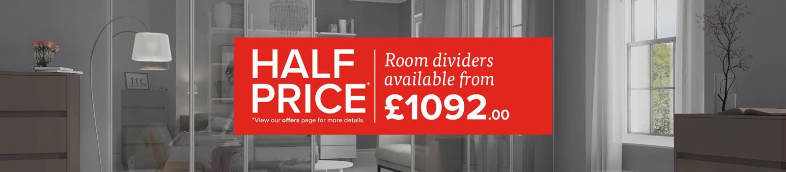 Room Dividers half price