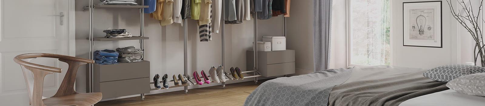 Premier storage wardrobe interior range